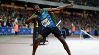 Usain Bolt wins 100m race in 9.88 seconds at Jamaica Racers GP