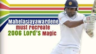 Sri Lanka need Jayawardene to recreate Lord's 2006