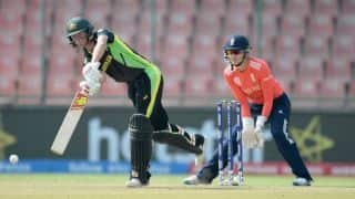 Meg Lanning's fifty helps Australia post 132-6 against England in 1st Semi-Final of Women's World T20 2016 at Delhi