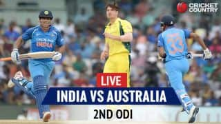 IND 165/3 (33) | Live Cricket Score, India vs Australia, 2nd ODI at Kolkata: Agar removes Pandey