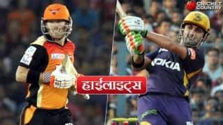 सनराइजर्स हैदराबाद ने कोलकाता नाइट राइडर्स को 48 रनों से हराया, जानें मैच की 5 खास बातें