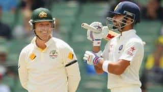 Virat Kohli, Ajinkya Rahane stablise India at tea on Day 5 of 3rd Test against Australia