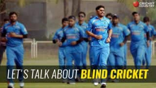 IND captain Reddy sheds light on blind cricket and more