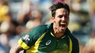 Mitchell Johnson happy with performance