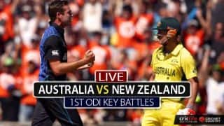 David Warner vs Tim Southee and other bewitching battles from 1st ODI