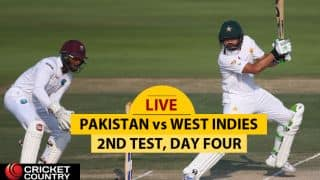 LIVE Cricket Score, Pakistan vs West Indies, 2nd Test, Day 4 at Abu Dhabi: PAK piling runs