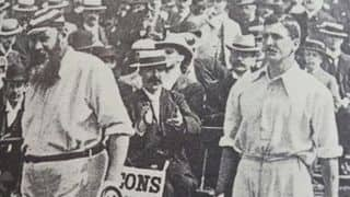 WG Grace plays his last Test; Victor Trumper, Wilfred Rhodes make debuts