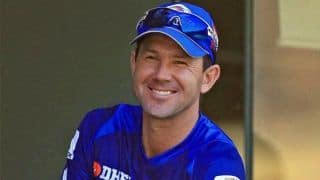 Ricky Ponting joins Australian support staff during tour of England