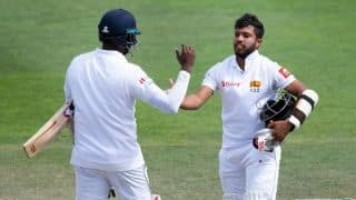 Kusal Mendis and Angelo Mathews deny New Zealand on wicketless day