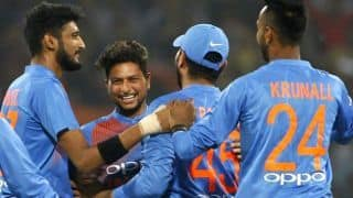 Kuldeep Yadav jumps 14 places in ICC T20I rankings
