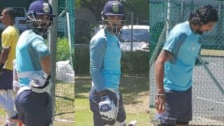 KL Rahul, Ajinkya Rahane and Ishant Sharma sweat it out in nets before 2nd test against South Africa