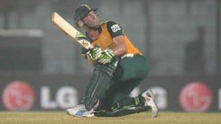 AB de Villiers stands tall for South Africa against Sri Lanka in 3rd ODI