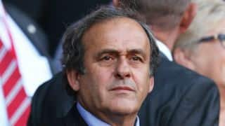 Michel Platini could resume work in 2 weeks