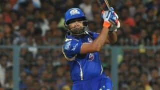 Mumbai Indians stutter early against Kolkata Knight Riders in IPL 2015