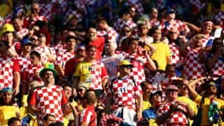 Croatia fans upset after loss to Brazil in FIFA opener