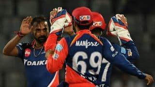 IPL 2017: Delhi Daredevils (DD) restrict Mumbai Indians (MI) to a modest total in IPL 10, Match 25