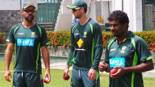 Nathan Lyon delighted to work with Muttiah Muralitharan