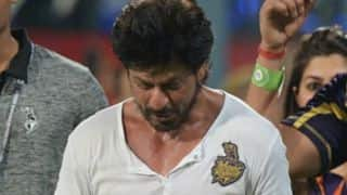 "IPL 2018: Shah Rukh Khan apologises for Kolkata Knight Riders' ""lack of spirit"""