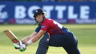 Sam Billings wins Walter Lawrence Trophy for fastest ton of season