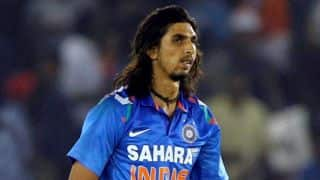 Ishant takes responsibility for 30-run over against Australia