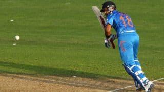 India tour of New Zealand 2014, 3rd ODI at Auckland: Rohit Sharma, Virat Kohli dismissed