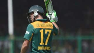 AB de Villiers, Faf du Plessis power South Africa to 209-5 vs Afghanistan, Group 1 Match at Mumbai