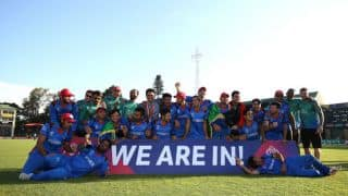 Live Cricket Score, ICC World Cup Qualifiers 2018 final, Afghanistan vs West Indies: AFG win by 7 wickets