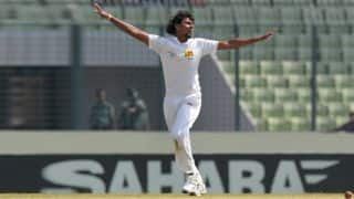 Bangladesh start well; finish Day two on 86/1 trailing Sri Lanka by 501 runs