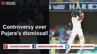 Cheteshwar Pujara's dismissal sparks controversy in Yorkshire vs Warwickshire match