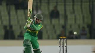 Bangladesh vs Afghanistan Asia Cup 2014 Match 5: Mominul Haque departs after half-century