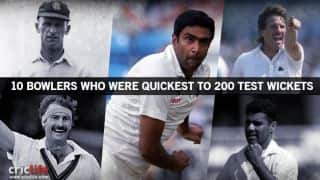India vs New Zealand: Ravichandran Ashwin and other fastest men to 200 Test wickets