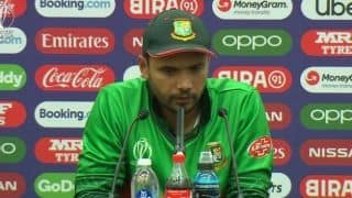 Mashrafe Mortaza hails Bangladesh spirit but admits batsman fell short