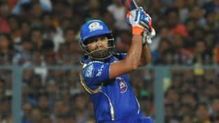 Rohit Sharma dismissed for 46; Mumbai Indians 100/5 vs Delhi Daredevils in Match 39, IPL 2015