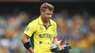 VIDEO: David Warner says he is doubtful for Bangladesh Test series