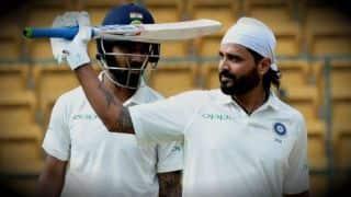 भारत-अफगानिस्तान टेस्ट के पहले दिन बने दो नहीं बल्कि तीन शतक !