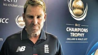 Shane Warne loses his bet to Sourav Ganguly; keeps his word by wearing England jersey