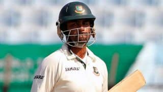 Pakistan declare on 557/8 at Tea, Bangladesh lose Tamim Iqbal early in Day 2 of 2nd Test at Dhaka