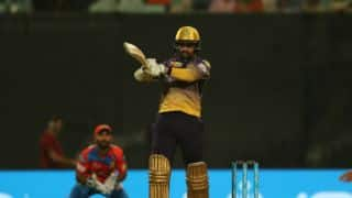 Watch Narine's record 17-ball 42 for KKR against GL