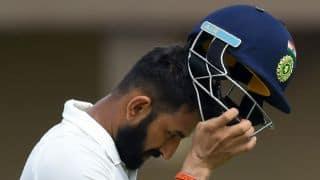 India vs Sri Lanka, 1st Men's Test at Galle: Visitors lead by 365 runs at tea after losing Shikhar Dhawan, Cheteshwar Pujara in quick succession