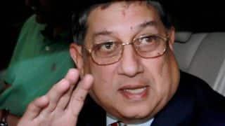 Sharad Pawar: N Srinivasan not in race to be BCCI president