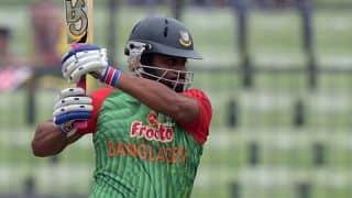 Tamim Iqbal, Imrul Kayes hammer bowlers as Bangladesh put up 276 vs Zimbabwe in 3rd ODI