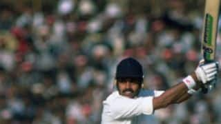 Magic Moments of Indian tours to England Part 11 of 16 – Dilip Vengsarkar scores third hundred at Lord's