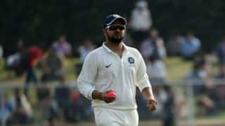 Live Cricket Scores, Duleep Trophy 2017-18, India Red vs India Blue, Day 1