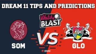 Dream11 Team Somerset vs Gloucestershire Match T20 BLAST 2019 2019 T20 Blast – Cricket Prediction Tips For Today's T20 Match SOM vs GLO at Bristol