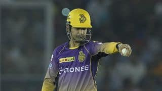 IPL 2017: Gautam Gambhir yet to make peace with Kolkata Knight Riders' (KKR) loss to Kings XI Punjab (KXIP)
