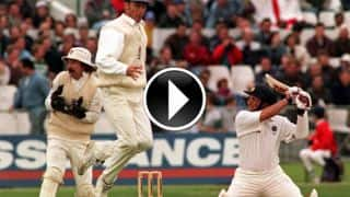 VIDEO: Sachin Tendulkar's 177 vs England at Trent Bridge, 1996