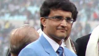 Sourav Ganguly to be formally elected CAB president on October 15