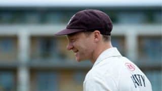 Surrey's Gareth Batty relieved no harm done following deadly arrow attack at The Oval