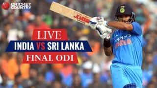 Live Cricket Score, India vs Sri Lanka, 3rd ODI at Visakhapatnam: INDIA WIN SERIES 2-1