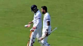 county select xi vs indians kl rahul century take rohit sharma lead team to 306-9